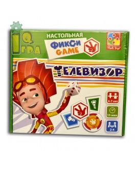 Настольная игра ходилка Фиксики Телевизор Vladi Toys VT2108-01  - VT2108-02