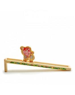 Самодвижущаяся игрушка из дерева Нюша - Смешарики, Мди - Der 328