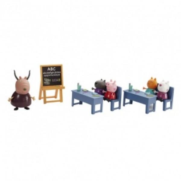 фото Игровой набор Peppa - ИДЕМ В ШКОЛУ (класс, 5 фигурок) - KDS 20827