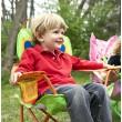 """Раскладной детский стульчик """"Бабочка Белла"""" Melissa & Doug - MD 6173"""