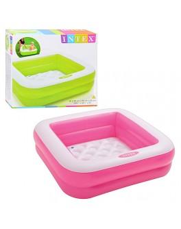 Надувной бассейн Intex для малышей 85х85х23 см (57100) - igs 57100