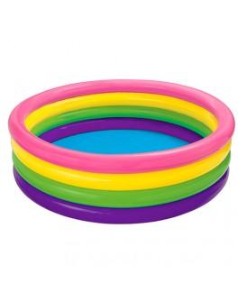 Надувной детский бассейн Intex Большая радуга 168х46 см - mpl 56441