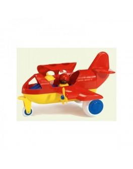 Самолет с 2 фигурками, 30 см, Viking Toys