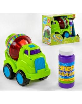 Ігровий набір TK Union Group Машинка для мильних бульбашок Бетономішалка (75348)