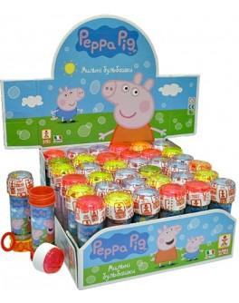 Мыльные пузыри Свинка Пеппа, 60 мл Италия