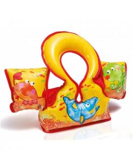 Детский надувной жилет-нарукавники Intex Морские жители (58673) - mpl 58673