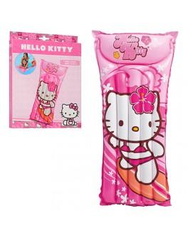 Надувной пляжный матрас Bestway Hello Kitty 181х60 см (58718) - mpl 58718