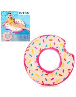 Круг надувной детский Intex Пончик 60-107 см