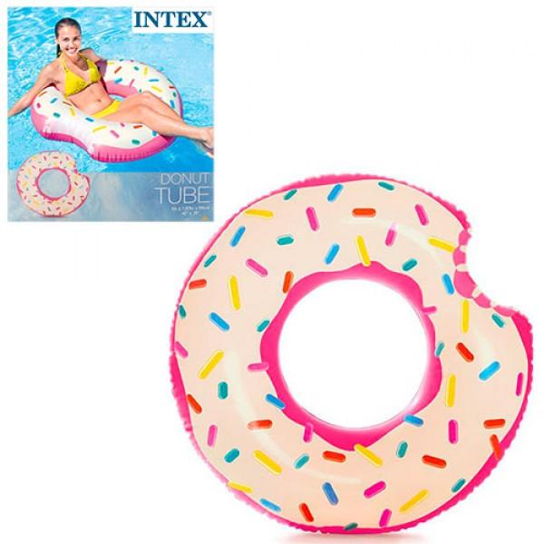 надувной круг Intex в виде пончика