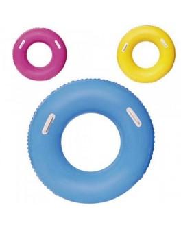 Круг надувной для плавания Bestway с ручками 91 см (36084)