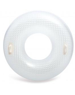 Надувной круг Intex Кристальный с ручками 114 см (56264)