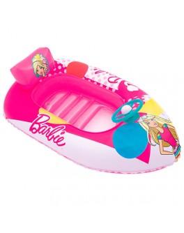 Надувная лодочка-плотик Bestway Barbie 114х71 см (93204)