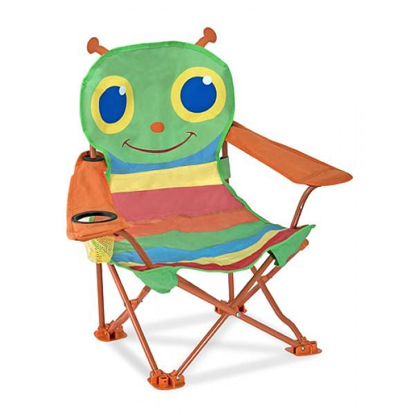 """фото Раскладной детский стульчик """"Бабочка Белла"""" Melissa & Doug - MD 6173"""