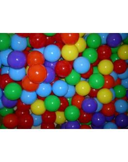 Шарики мягкие большие для сухого бассейна 8 см, 200 шт - mlt ИП.13.002