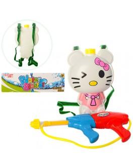 Водяной автомат Hello Kitty с баллоном на плечи M 3536