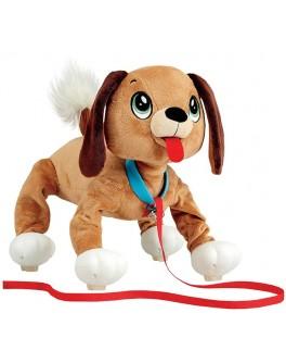 Интерактивная игрушка Peppy Pets Веселая прогулка - Бассет, 28 см (245277)