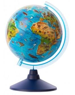 Інтерактивна іграшка Alaysky's Globe Глобус зоо-географічний, Д21см (AG-2130)