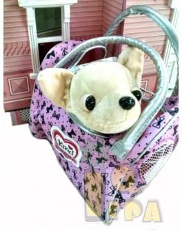 Собачка Кикки с сумочкой, 22 см, укр. озвучка (M 3482 UA)