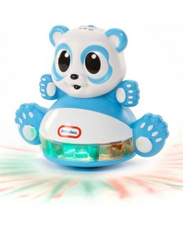 Развивающая игрушка-неваляшка Догони огонек - Панда (свет, звук, датчик движения)