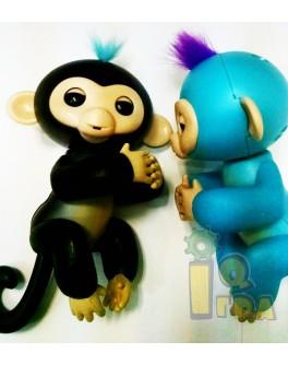 Обезьянка Интерактивная на палец Happy Monkey
