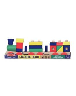 Деревянная игрушка Поезд c кубиками Melissa Doug - MD 572
