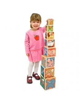 Деревянная игрушка Пирамидка с животными Melissa&Doug - MD 14207
