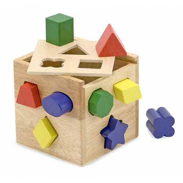 фото Деревянная игрушка Сортировочный куб, Melissa&Doug - MD 575