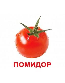 Карточки Домана Овощи русский язык Вундеркинд с пелёнок