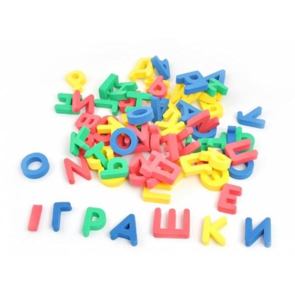 Алфавит украинский россыпью, магнитный