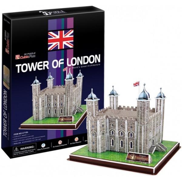 3D-конструктор CubicFun Лондонский Тауэр (C715h)