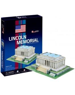 3D-конструктор CubicFun Мемориал Линкольна (C104h)