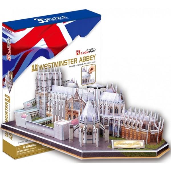 3D-конструктор CubicFun Вестминстерское аббатство (MC121h)