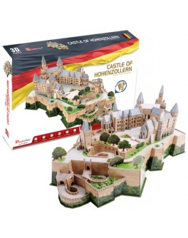 3D-конструктор CubicFun Замок Гогенцоллерн (MC232h)