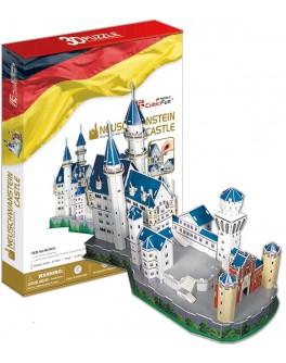3D-конструктор CubicFun Замок Нойшванштайн (MC062h-2)