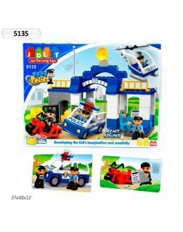 Конструктор JDLT Полиция 68 деталей - MPL 5135