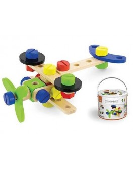 Деревянная игрушка конструктор Viga Toys 48 деталей (50383) - afk 50383