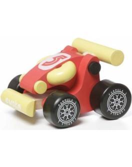 Деревянная Машинка мини-карт Cubika