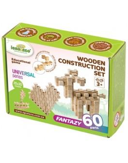Деревянный конструктор Игротеко - Фантазия на 60 деталей - igroteco 900057