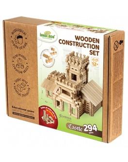 Деревянный конструктор Игротеко - Замок на 294 детали - igroteco 900361