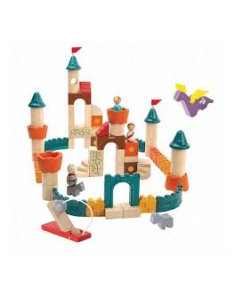 Дерев'яний конструктор Фантастичні кубики Plan Toys (5696) - plant 5696