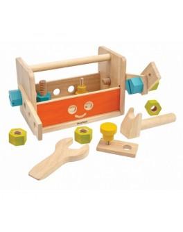 Деревянный ящик для инструментов Робот Plan Toys (5540) - plant 5540