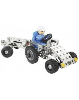 Металлический конструктор Eitech Трактор с прицепом - MD C81