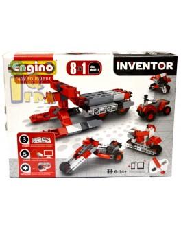 Конструктор Engino Inventor 8 в 1 Мотоциклы, 70 эл. - kds 0832