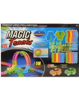 Конструктор Гоночная трасса Magic Tracks 446 деталей