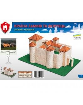 Конструктор з керамічних цеглинок Хотинський замок - esk 70309
