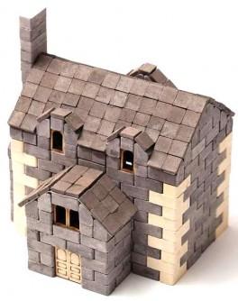 Конструктор Английский дом из керамических кирпичиков 500 деталей - esk 70422