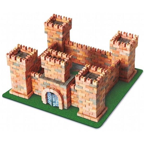 конструктор из мини-кирпичиков Замок дракона, 1080 деталей