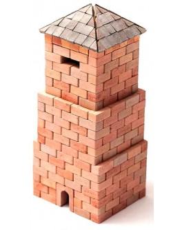 Конструктор Западная башня из керамических кирпичиков 400 деталей - esk 70415