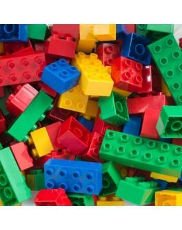 Конструктор блоковий Будівельні блоки 100 деталей