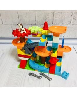 Конструктор для малюків Парк розваг 109 деталей (2866А)